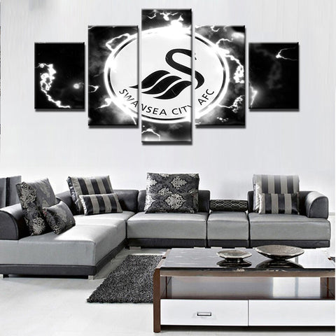 5 Panles Sports Home Decor Frames Modern Home Wall Decor Canvas Picture Art HD Print Painting