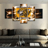 Canvas Art Wall Picture Modern Paintings Home Decoration 5 Piece Canvas Print Modern Oil PaintingQ192