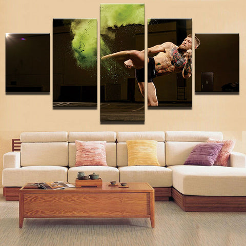 Modern Abstract Painting Photo Wall Pictures For Living Room Decorative conor mcgregor