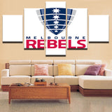 Mordern Canvas Painting Modular Art Poster Wall Oil Picture Home Decor Rebels Rugby