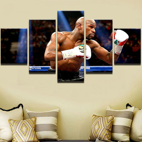 Canvas Art Painting Wall Picture Home Decoration Living Room Canvas Print mayweather