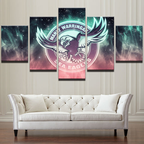 PENGDA Wall Art Canvas Sea Eagles
