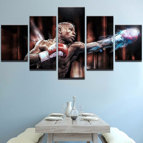 Boxing 5 PCs Canvas