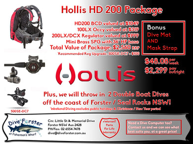 Hollis HD 200 Package