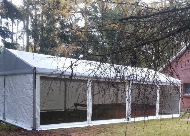 Intimate Marquee Wedding next to family house