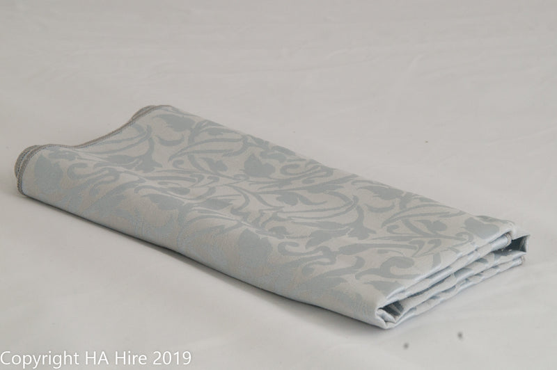 Silver Patterned Napkin