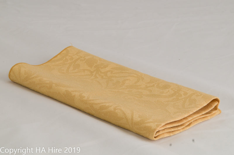 Gold Patterned Napkin