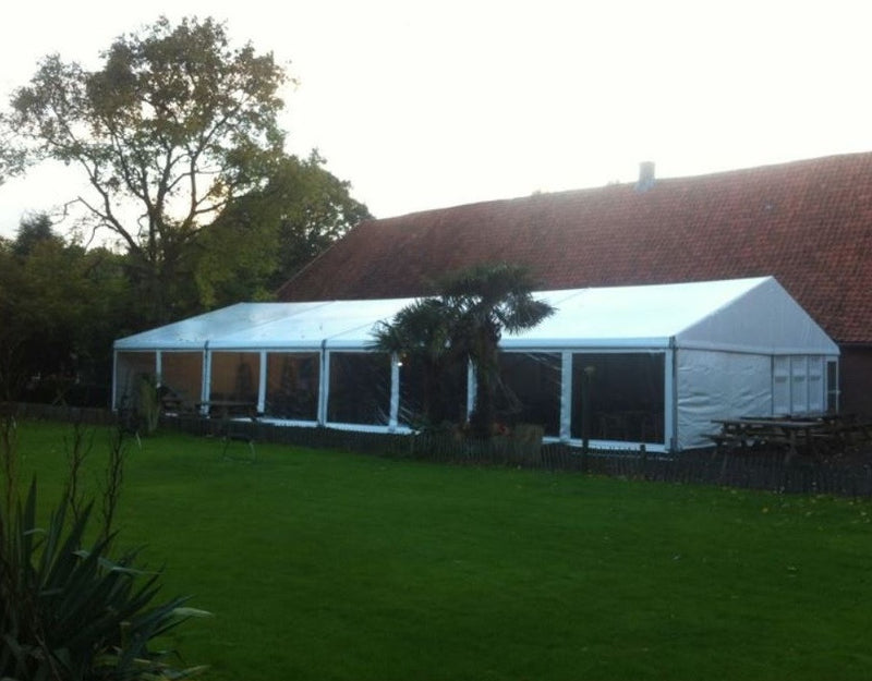Wedding Marquee With Clear Windows