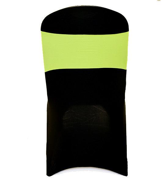 Fluro Yellow Lycra Chair Band