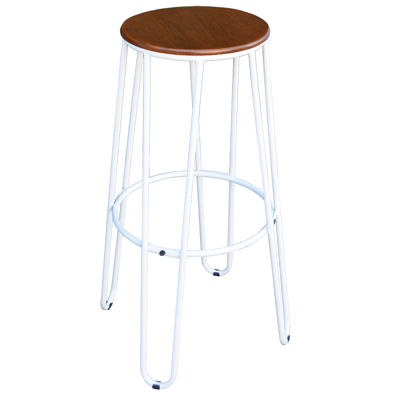 Hair Pin Stool - White