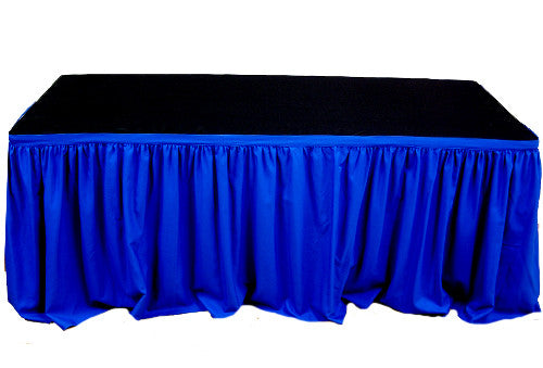Table Skirting - 4 meter Royal Blue