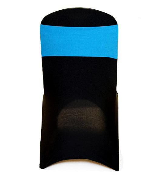Turquoise/Aqua Lycra Chair Band