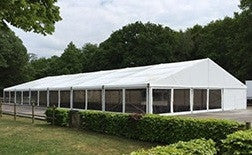 Large Wedding marquee on private property