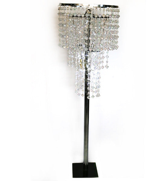 Pearl Drops Chandelier Lamp shade various stands available
