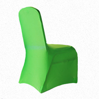 Fluro  Green Lycra  chair cover
