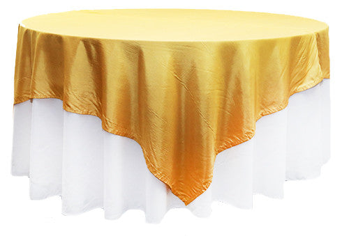 Yellow Satin Square 2m Overlay