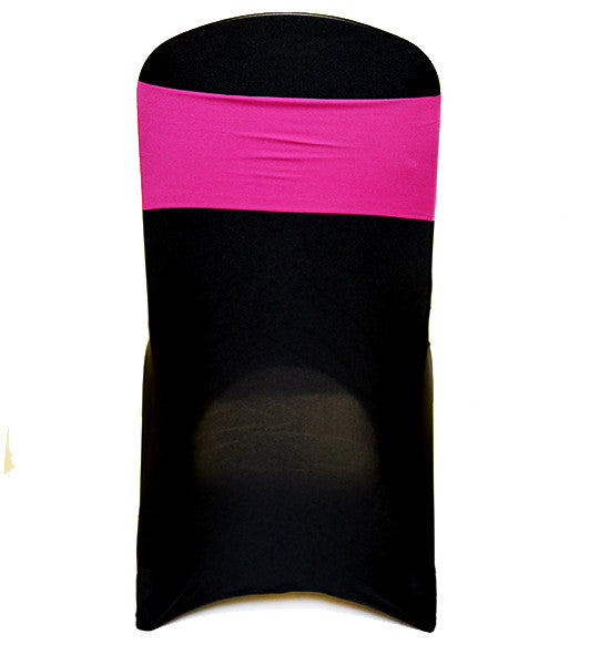 Pink Lycra Chair Band