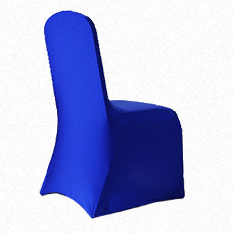 Royal Blue Lycra  chair cover