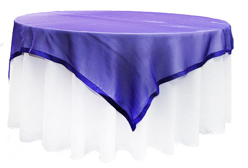 Purple  Organza Square 2m Overlay