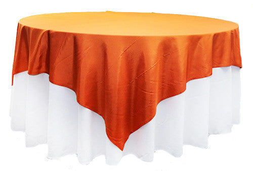 Orange Silk  2m Square Overlay