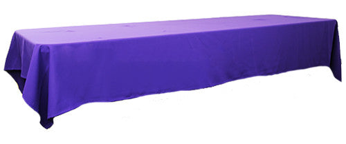 Purple 3m x 1.45 Trestle cloth