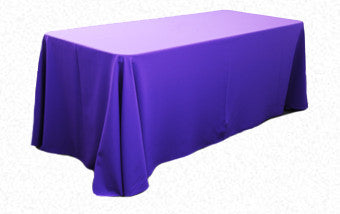 Purple 3.3m x 2.1m Trestle cloth