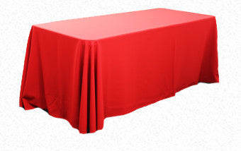 Red 3.3m x 2.1m Trestle cloth