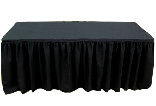 Table Skirting - 4 meter Black