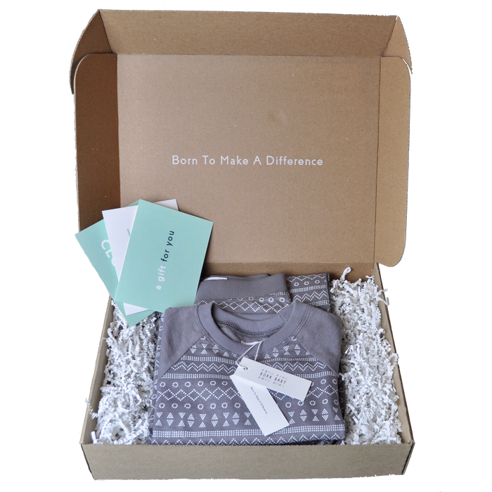 Hemp Fleece Gift Box