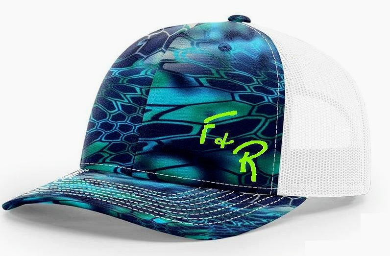 51220dc5fb35e FRFC Pelagic Camo Performance Hat – Fillet and Release Fishing Co.