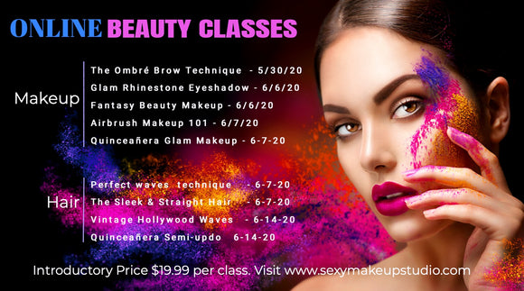 ONLINE BEAUTY CLASSES