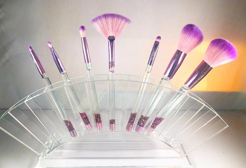 Cute Clear Acrylic Brush/lipstick Organizer