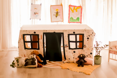CubbyTime™ Fabric Cubby House