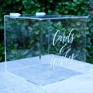 Acrylic Wishing Well Box