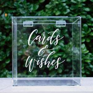 Acrylic Classic Wishing Well Box