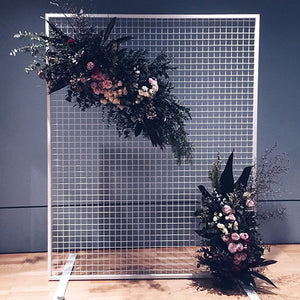 Hire Me: White Mesh Backdrop - FoxAndHart