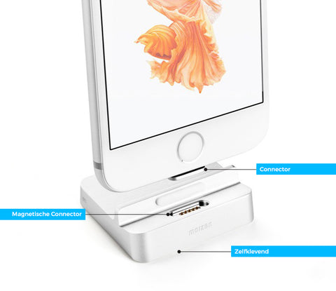 Ultieme iPhone Lader - Magnetisch Oplaad station voor iPhone 7 6S