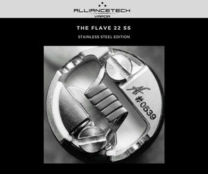 Flave 22 Stainless Steel by AllianceTech Vapor