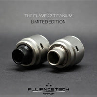 Flave 22 Titanium RDA by AllianceTech Vapor