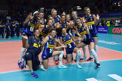ninesquared Volleyball Nations League Femminile 2018