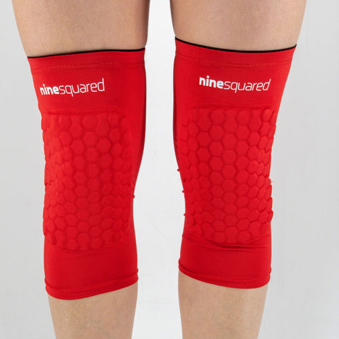 ninesquared ginocchiere agile short Red