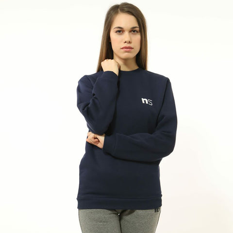 ninesquared donna felpa sweater pallavolo volleyball Blue