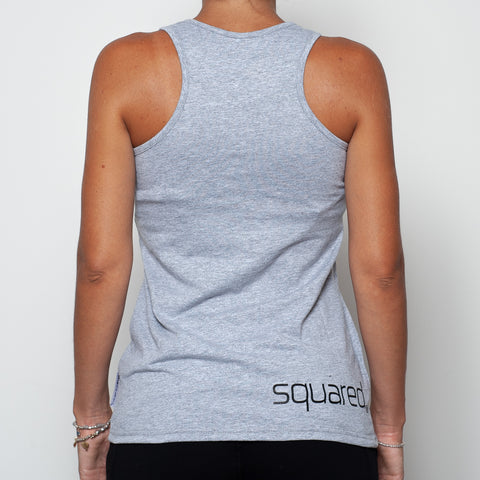 ninesquared donna tanktop canotta pallavolo volleyball Grey