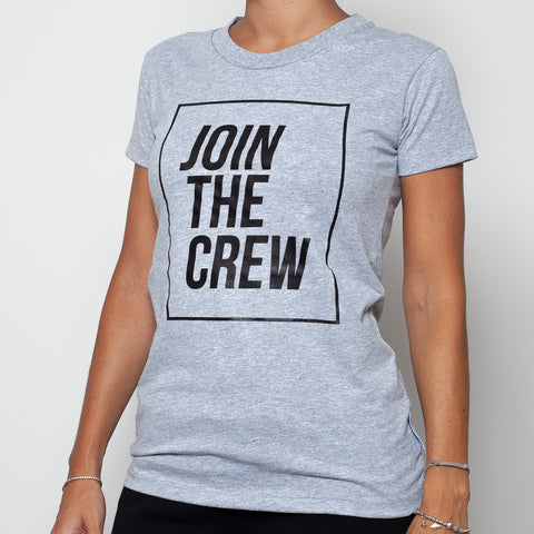 t-shirt maglietta ninesquared jointhecrew donna woman pallavolo volleyball Grey