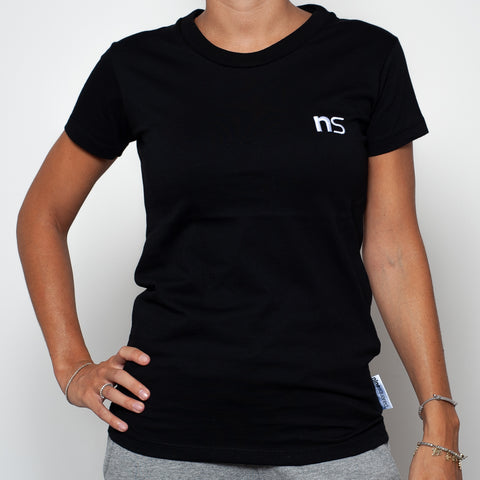 ninesquared donna tshirt pallavolo volleyball Black