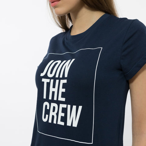 t-shirt maglietta ninesquared jointhecrew donna woman pallavolo volleyball Blue