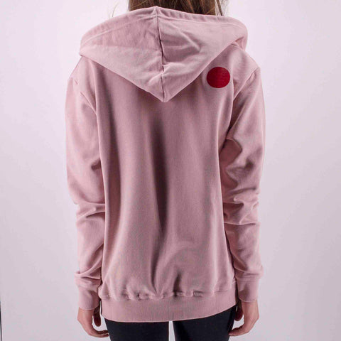 ninesquared donna hoodie felpa pallavolo volleyball Pink