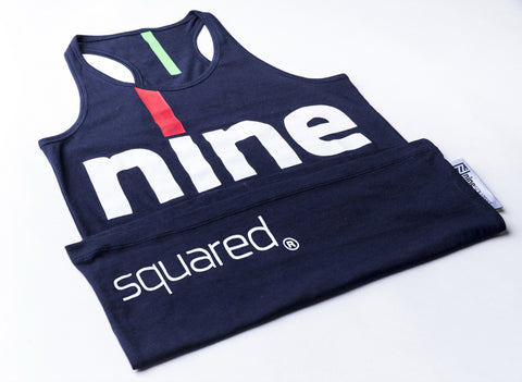 ninesquared donna tanktop canotta pallavolo volleyball Blue