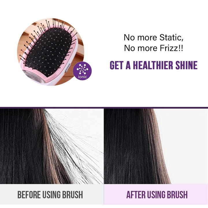 Portable Electric Negative Ions Hairbrush