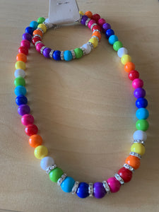 Over The Rainbow Bead and Bracelet set -Plus Size | Over The Rainbow Bead and Bracelet set -Plus Size
